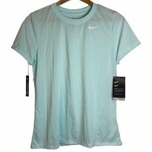 Nike Dri-Fit Short Sleeve Anti Odour Aqua Top M